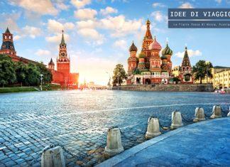 Cosa vedere alla Piazza Rossa di Mosca