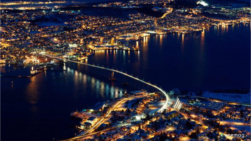 La notte polare della Norvegia