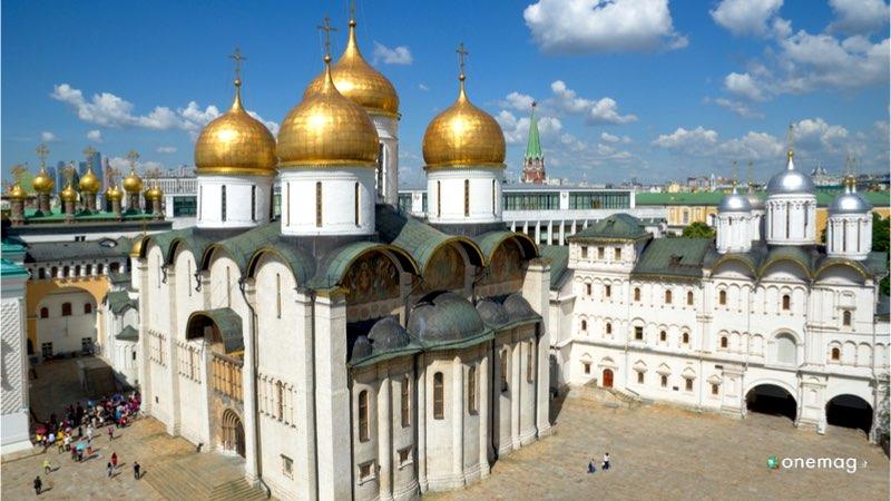 Il Cremlino di Mosca, il Palazzo del Patriarca