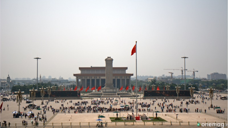 Pechino,Piazza Tienanmen a Pechino