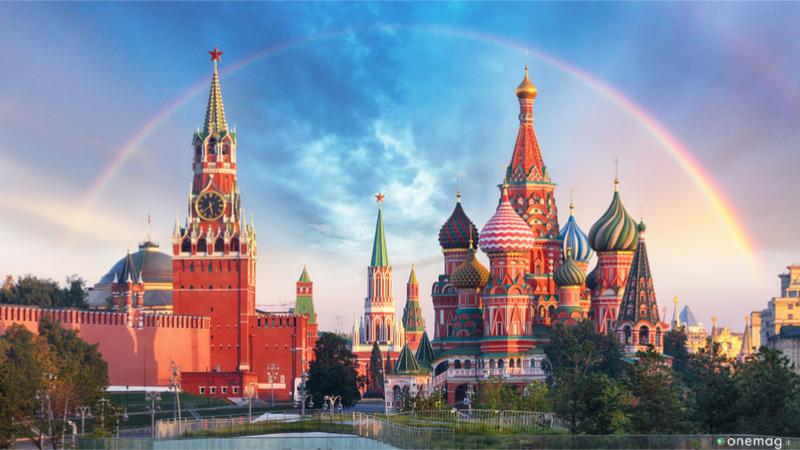 Le 10 piazze più belle del mondo, Piazza Rossa a Mosca