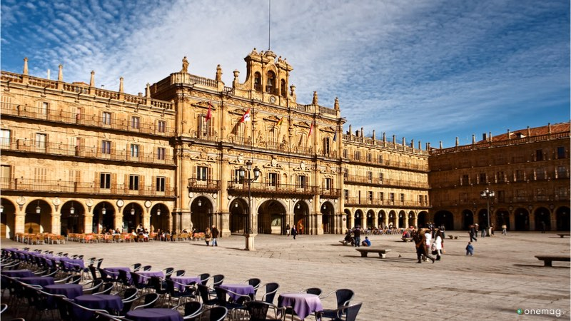 Plaza Mayor a Salamanca
