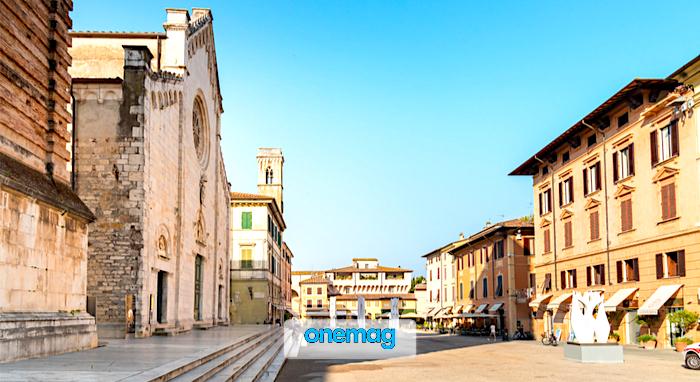 Cosa vedere a Pietrasanta, veduta centro storico