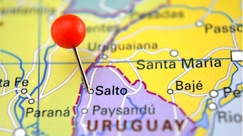 Salto, mappa
