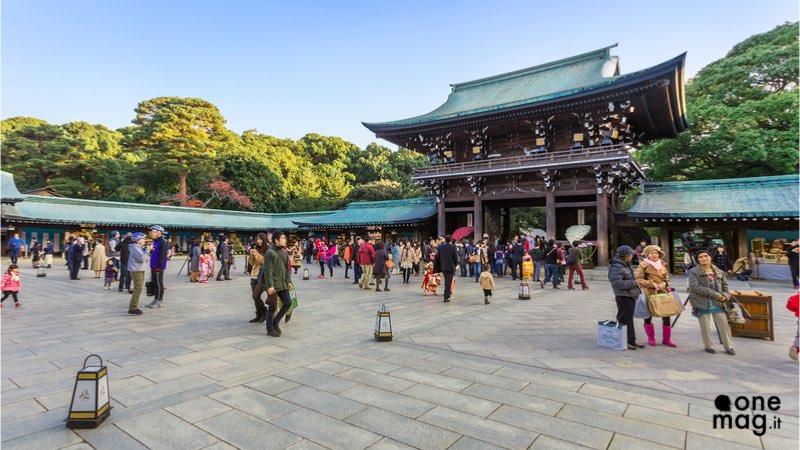 Shibuya Tokyo, il Santuario Meiji-jingu