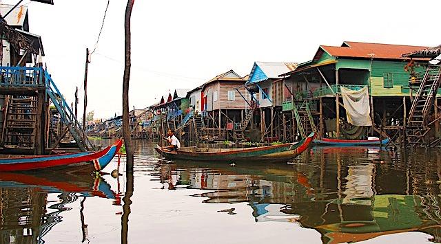 Cosa vedere a Siem Reap, il lago Tonle Sap