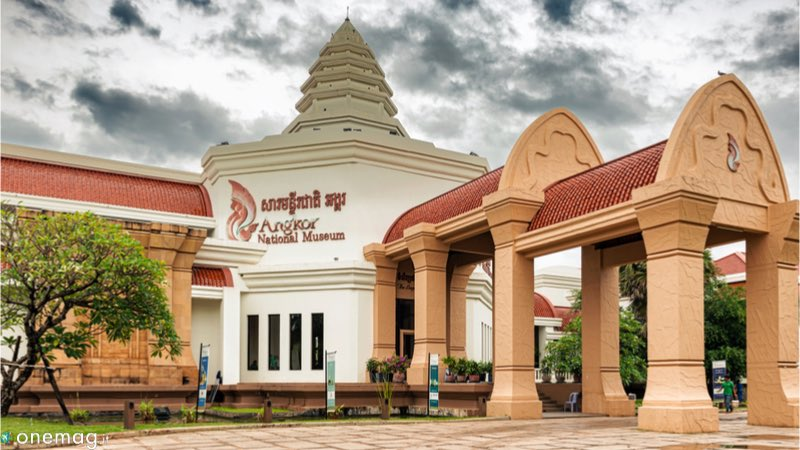 Cosa vedere a Siem Reap, Museo Nazionale d'Angkor