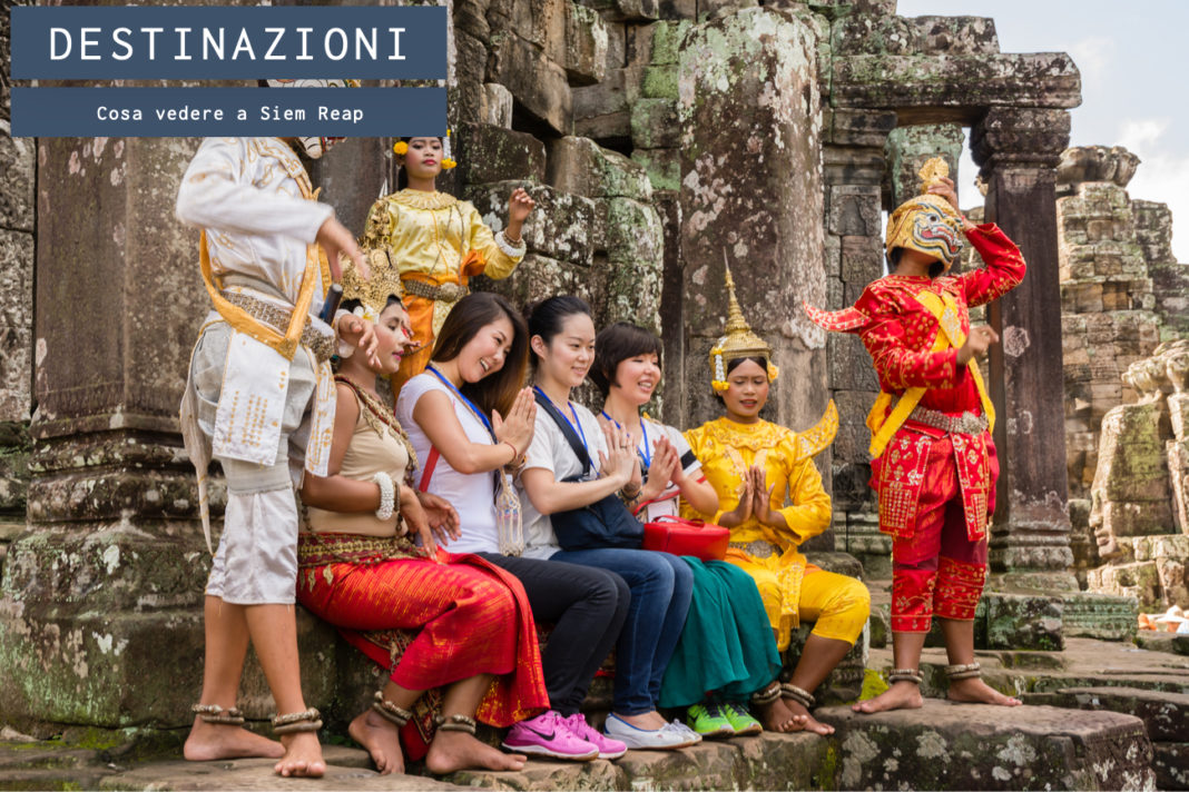 Siem Reap, la città della Cambogia