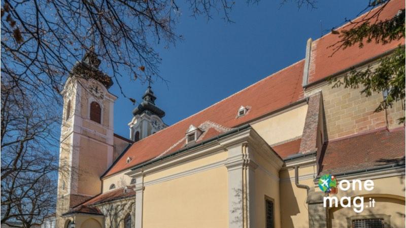 Cosa vedere a Tulln, Chiesa di Minoritenkirche