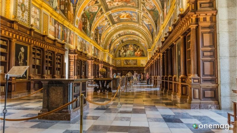 Le 5 biblioteche più sorprendenti del mondo, Biblioteca dell'Escorial, Spagna