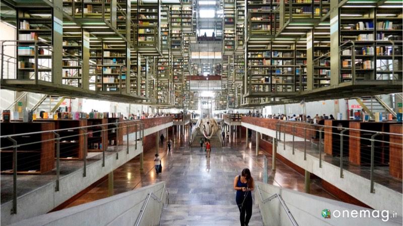 Le 5 biblioteche più sorprendenti del mondo, Biblioteca José Vasconcelos, Città del Messico