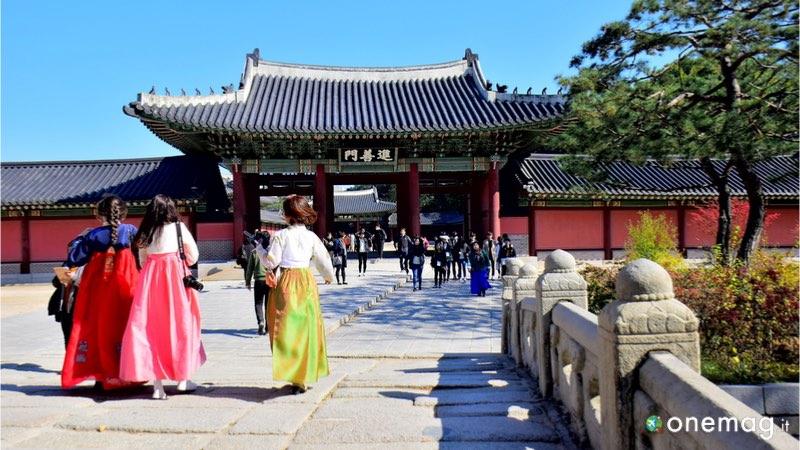 Palazzo di Changdeokgung Seul, ingresso