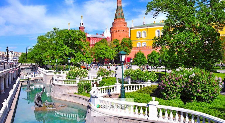 Giardini di Alessandro a Mosca