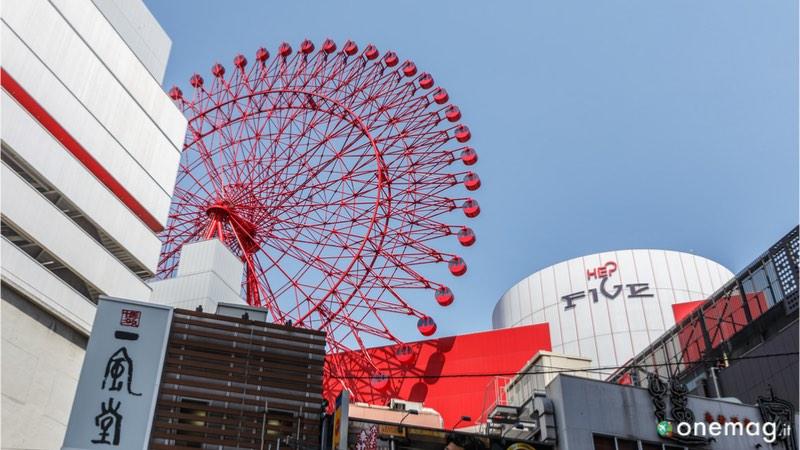 Il quartiere Kita-Ku di Osaka, Hep Five