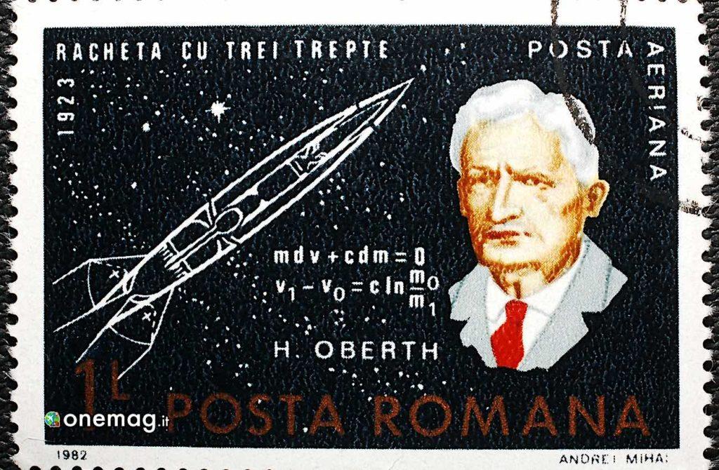 Hermann Oberth, francobollo