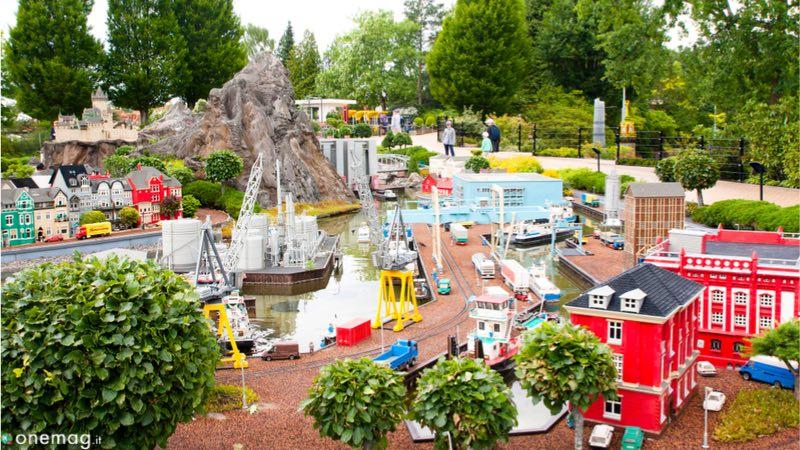Legoland, il parco divertimetni di Billund, in Danimarca