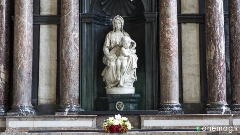Le migliori attrazioni del Belgio, la Madonna di Bruges