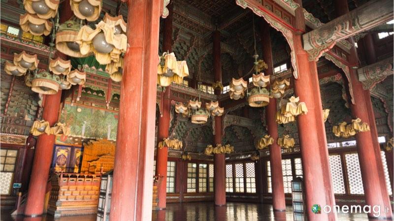 Palazzo di Changdeokgung Seul, dettaglio