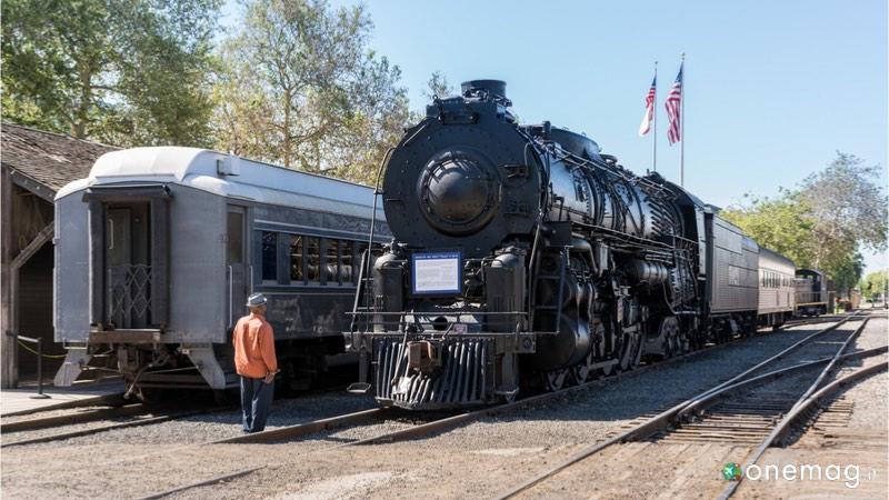 La Old Town di Sacramento, State Railroad Museum