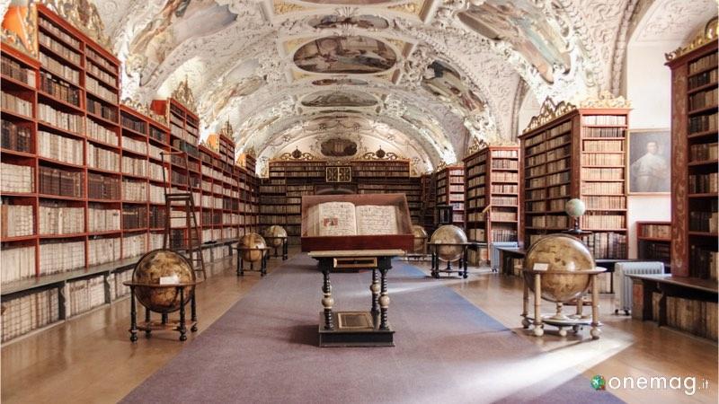 Le 5 biblioteche più sorprendenti del mondo, Biblioteca del monastero di Strahov, Repubblica Ceca