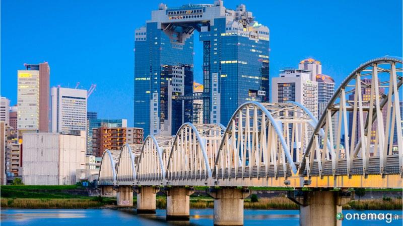 Cosa visitare ad Osaka. il quartiere Kita-Ku e le Umeda Sky Bulding