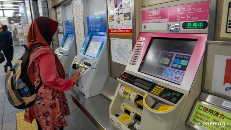 Come muoversi a Osaka, acquistare i biglietti