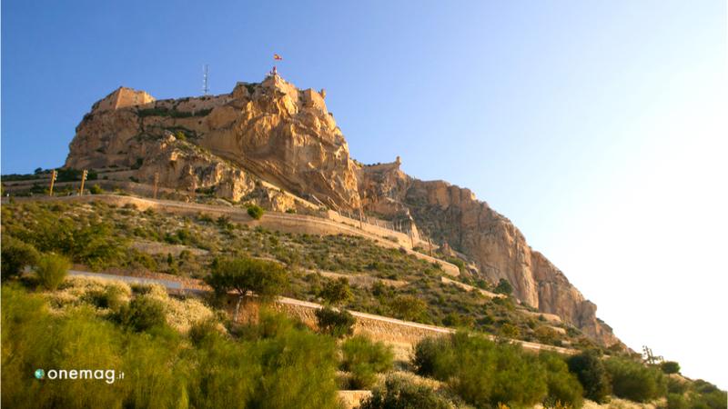 Cosa vedere ad Alicante, il Castello di Santa Barbara