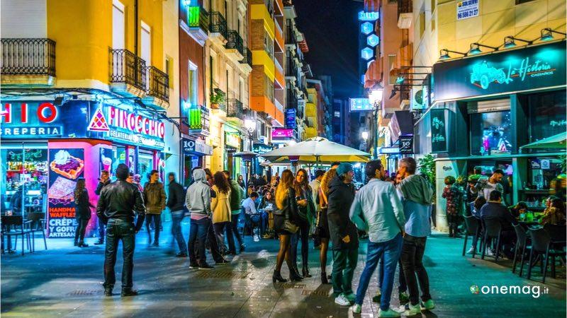 Cosa vedere ad Alicante, la movida serale