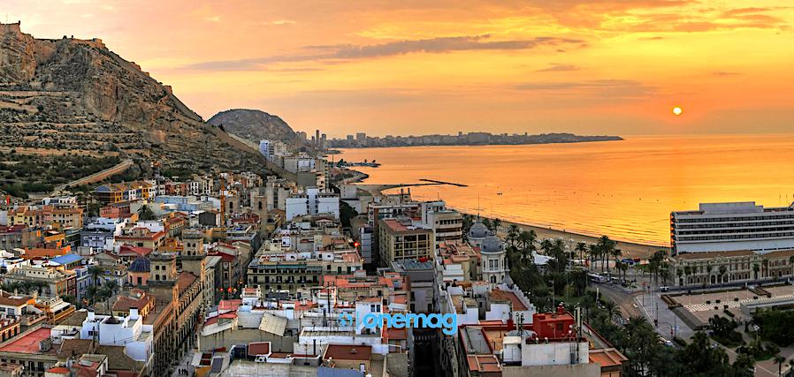 Cosa vedere ad Alicante, veduta panoramica