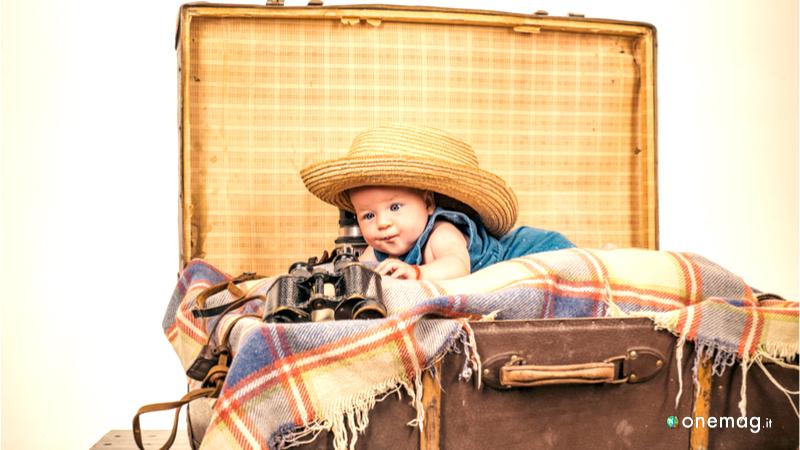 Come viaggiare sereni con bebè al seguito