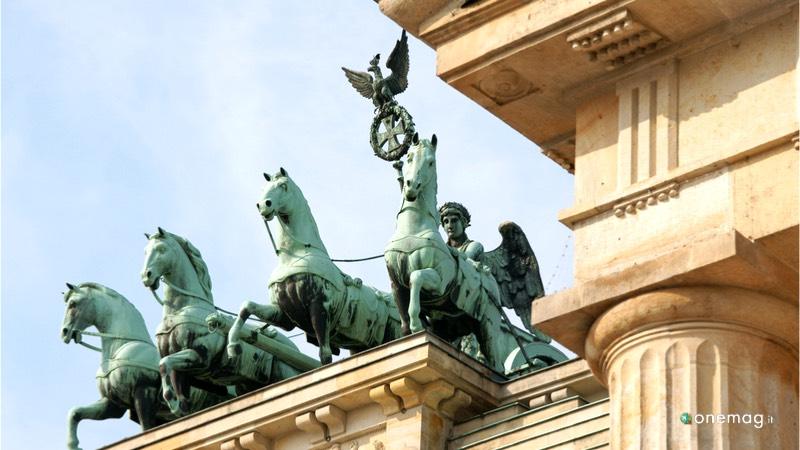 La porta di Brandeburgo a Berlino, Eirene, la dea greca della pace