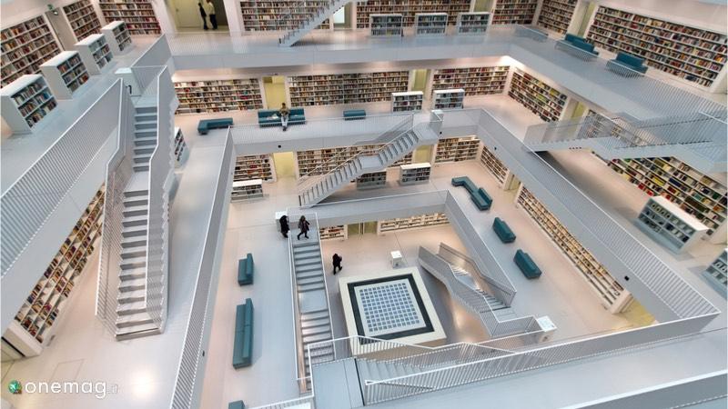 Le 5 biblioteche più sorprendenti del mondo, Biblioteca della città di Stoccarda, Germania