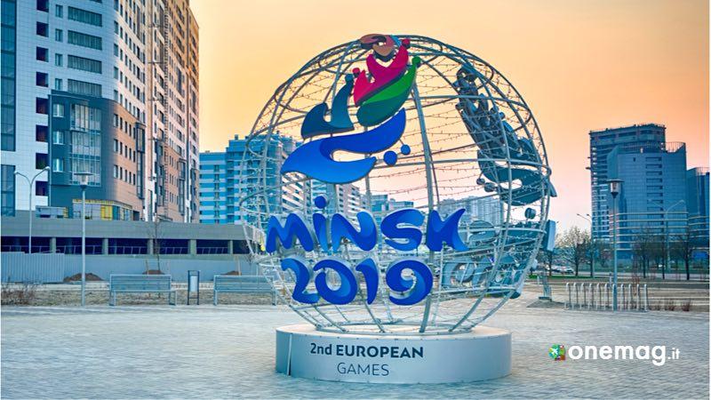 Bielorussia, logo dei Giochi Europei 2019