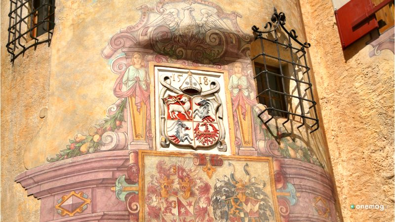 Il Castello di Brunico, particolare della struttura
