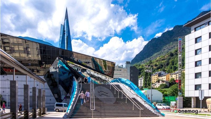 Caldea, il centro termale di Andorra