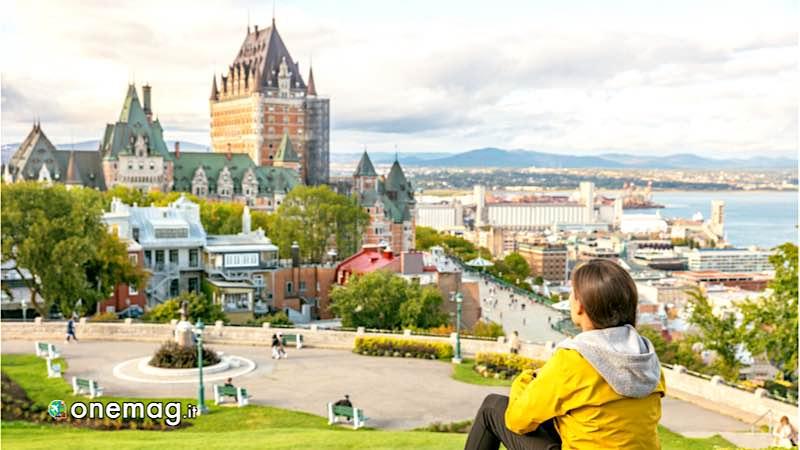 Perchè visitare il Canada, veduta di Quebec City