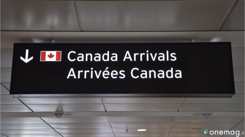 Quanto costa un viaggio in Canada, il visto