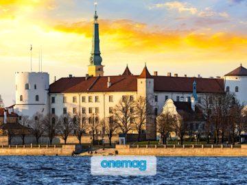 Riga, il castello sul fiume Daugava
