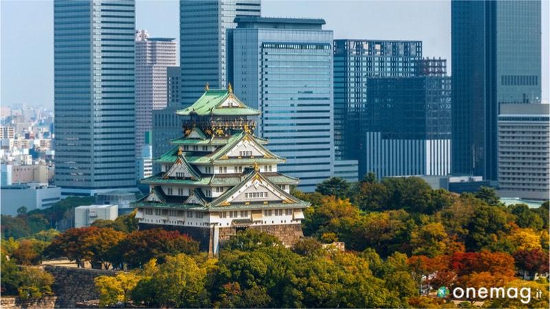 Castello di Osaka, veduta
