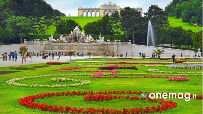 Il parco Schonbrunn