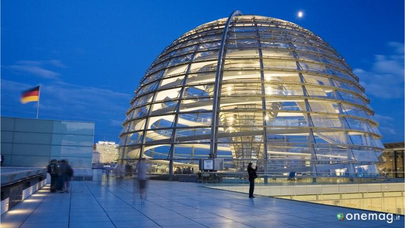 Il Reichstag di Berlino, la cupola di vetro