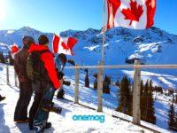 I migliori luoghi sciistici in Canada