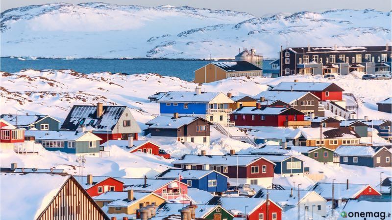 Le cinque isole più grandi del mondo, la Groenlandia