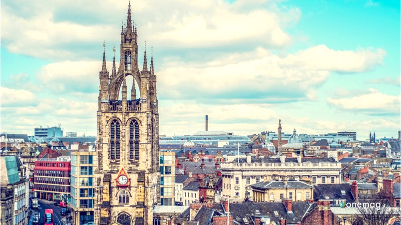 Cosa vedere a Newcastle, veduta centro storico