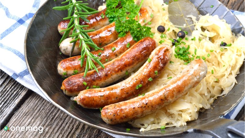 Cosa mangiare a Norimberga, la salsiccia