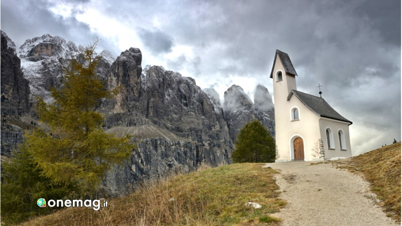Ortisei, salita alla Chiesa di San Giacomo