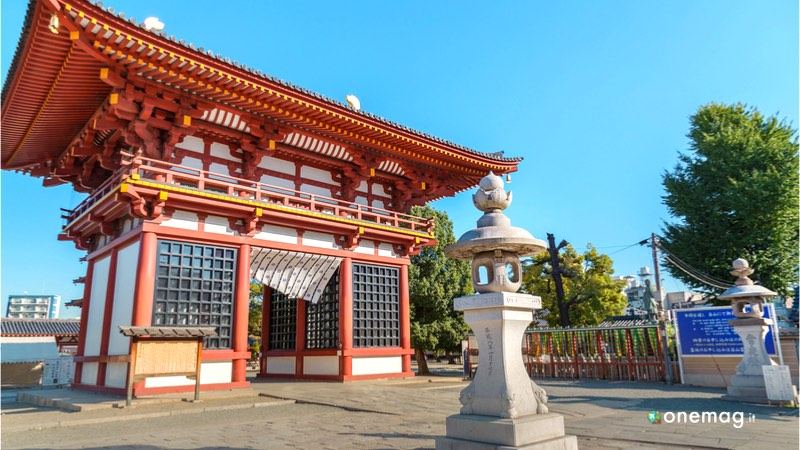 Il Tempio Shitenno-ji di Osaka, ingresso