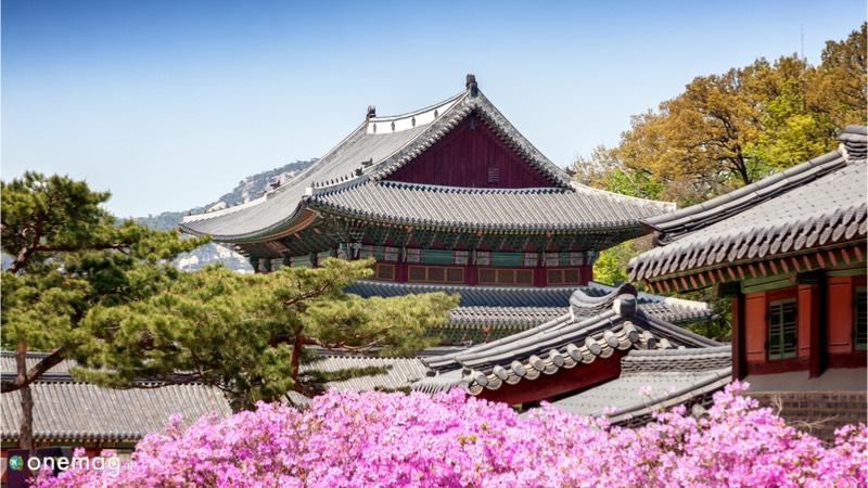 Palazzo Changdeokgung di Seul, veduta