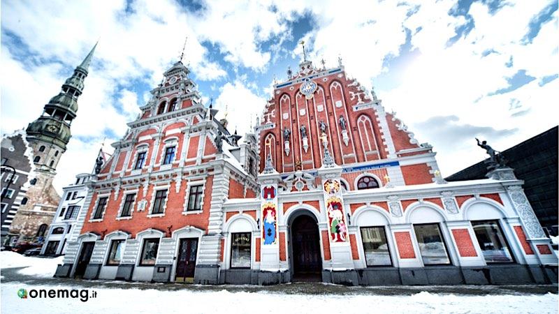 La casa delle teste nere di Riga
