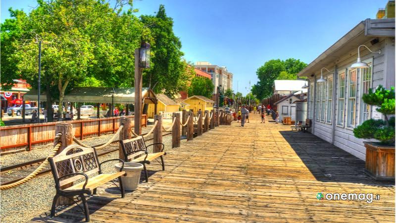 Old Town di Sacramento, veduta
